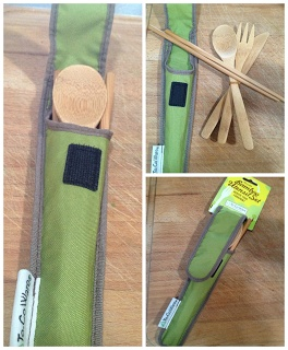 To-Go Ware reducing the ForkPrint!  I love these ECO friendly Organic Bamboo utensils!