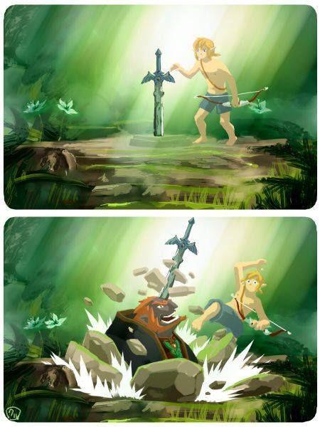 The Legend of Zelda   Breath of the Wild   MasterSword