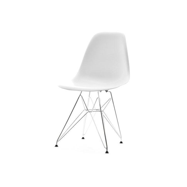 Jídelní židle MOBI Bílá - 1