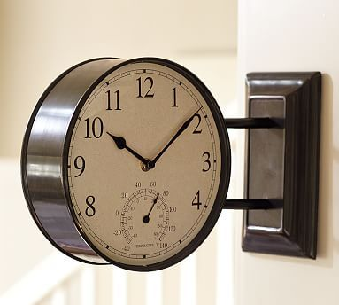 24 Best Images About Best Two Sided Outdoor Clocks On