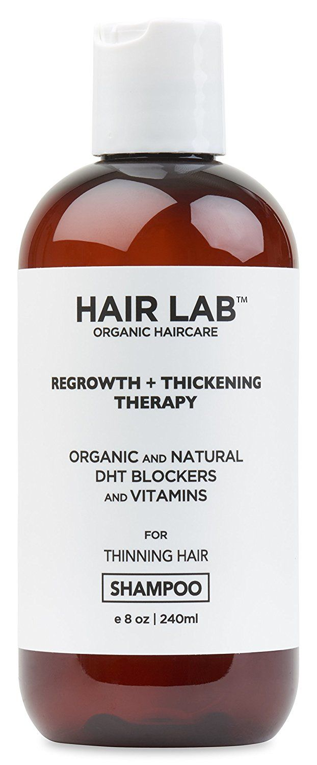 Hair Lab Shampoo for Hair Loss Hair Regrowth and Thinning Hair. Organic Ingredients. DHT Blockers, Caffeine, Argan Oil. Suitable for All Hair Types. Sulfate-Free. (8 ounce) -- Want additional info? Click on the image.