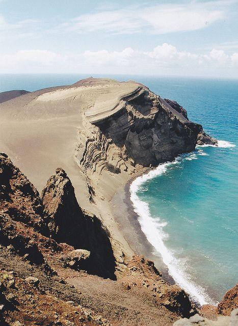 Açores , ilha do Faial Capelinhos, Portugal