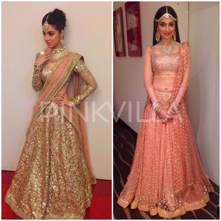 Divya Khosla Kumar in Sabyasachi and Tarun Tahiliani