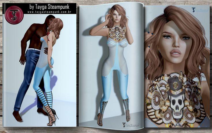 """O blog """"by Tayga Steampunk"""" que traz moda FREE, Group Gift e outros no Second Life, além de dicas de edição e trabalho com imagens"""