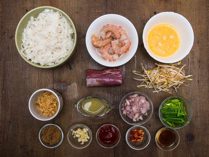 Пад тай со свининой и креветками - пошаговый рецепт с фото - пад тай со свининой и креветками - как готовить: ингредиенты, состав, время при...