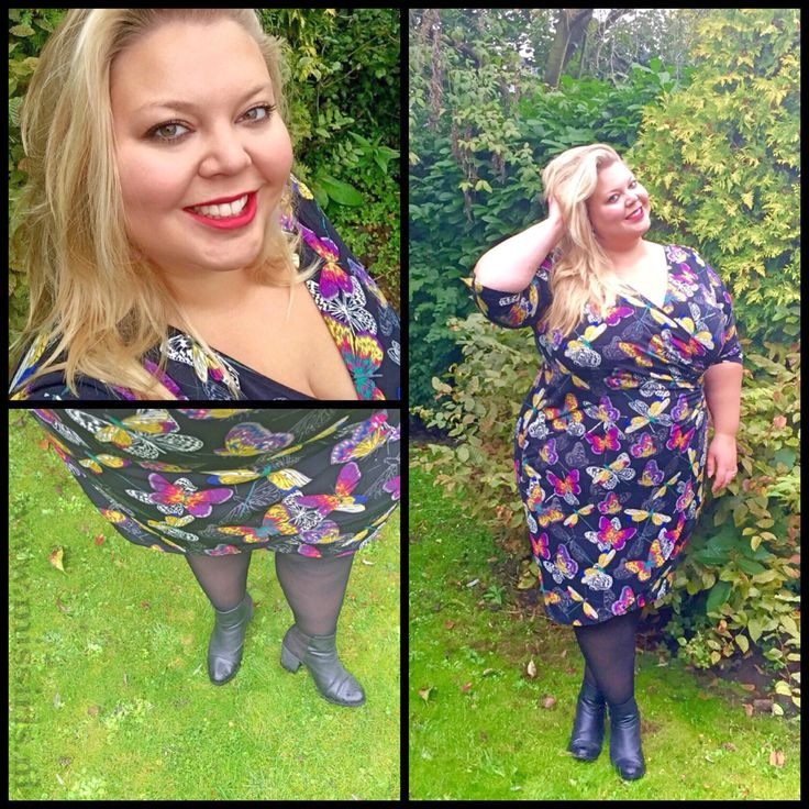 Butterfly Autumn - Plus size fashion - Yoek