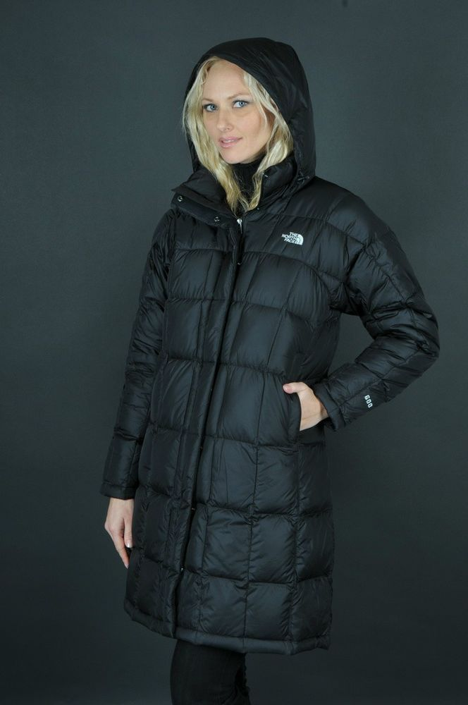 THE NORTH FACE WOMEN'S METROPOLIS INSULATED PARKA JACKET COAT - BLACK -  MEDIUM #Metropolis #