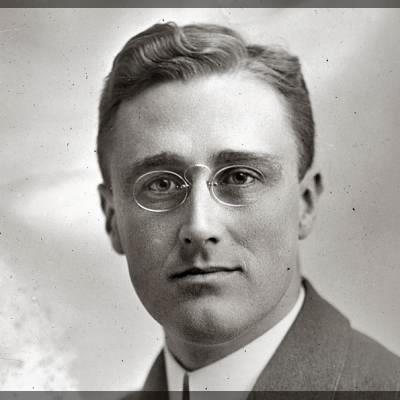 Young Franklin D. Roosevelt