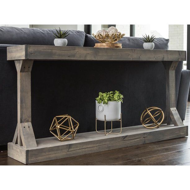 Barb Small Console Table Solid Wood by Del Hutson Designs ...