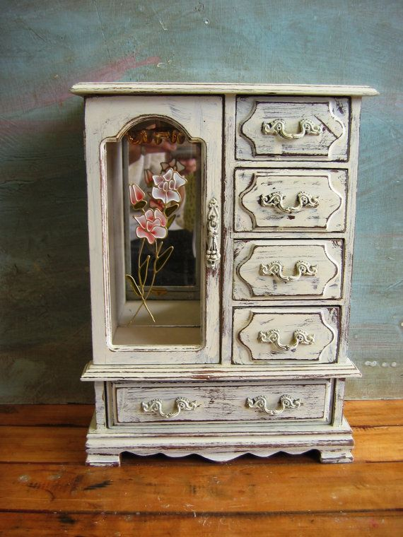204 best Jewelry Boxes Upcycled images on Pinterest Jewellery