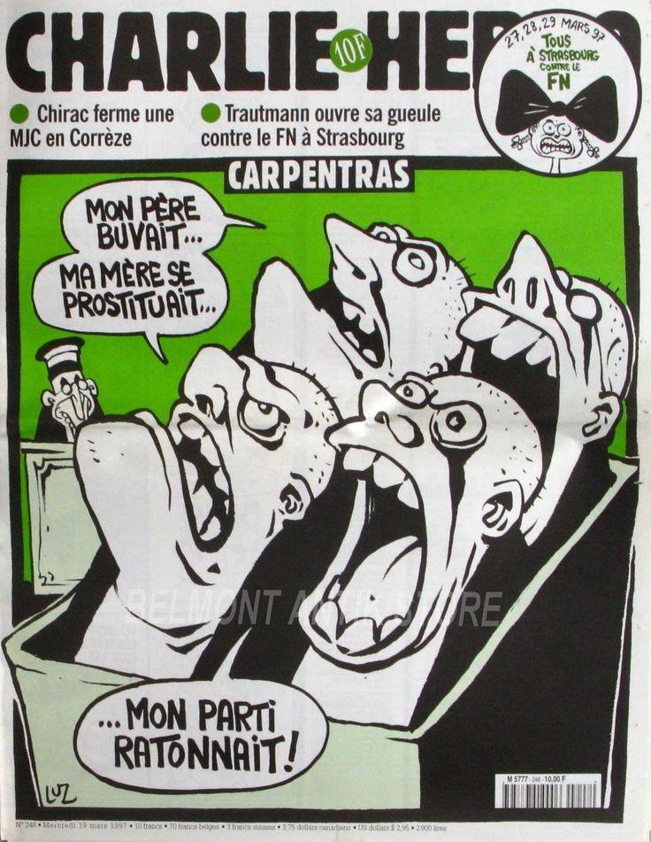 Charlie Hebdo - # 248 - 19 Mars 1997 - Couverture : Luz