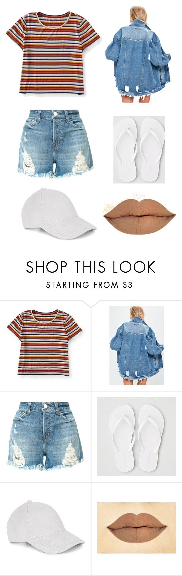 """sans"" by tiyati on Polyvore featuring Aéropostale, J Brand, American Eagle Outfitters and Le Amonie"