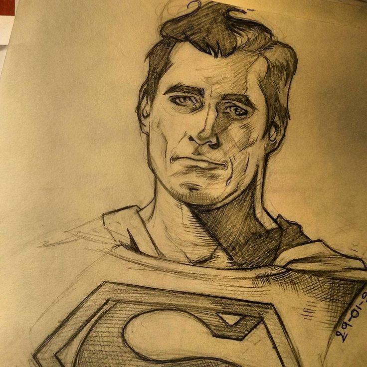 regram @leilaleiz My first crush  #dccomics #Superman #clarkkent #dcuniverse #dccomics #dcuniverse #sketch #comics #comicbooks #superheroe #artistofinstagram #art #portrait #classicsuperman