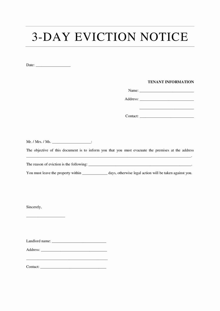 30 day eviction notice template unique 12 eviction notice