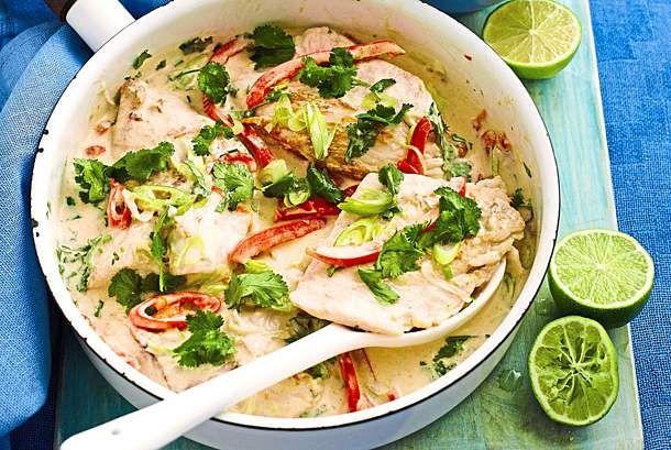 Kokos-Limetten-Fisch