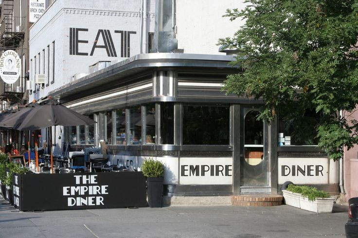 Empire Diner, NYC
