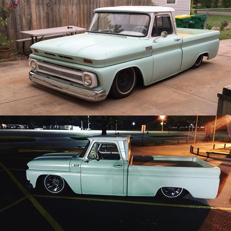 """1,511 Me gusta, 5 comentarios - CLASSIC BAGGED TRUCK PAGE (@bagged_4_life) en Instagram: """"@preston7249  50 mile trip in the old beater the LS Engine worked great"""""""
