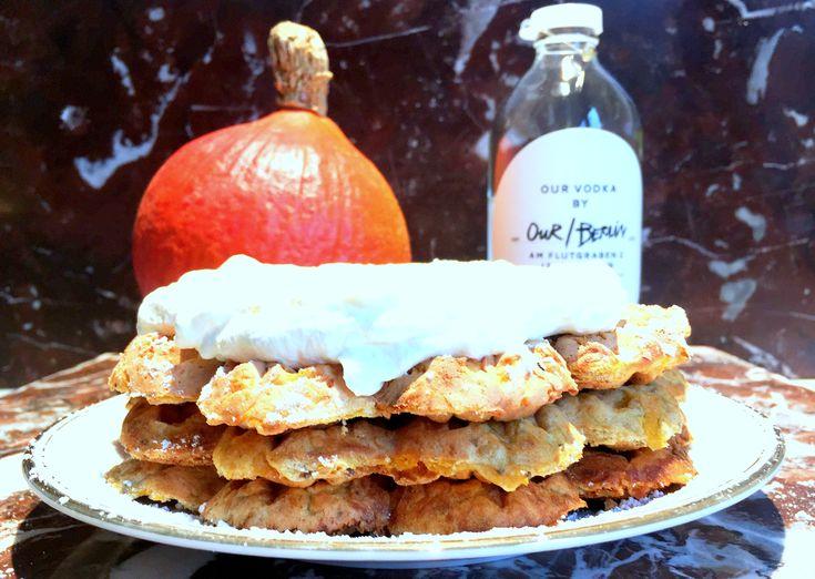 Pompoenwafels & andere recepten met pompoen en drank - www.maisonslash.be/foodaholic