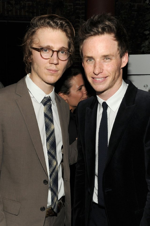 Paul Dano and Eddie Redmayne in the same picture! I don't know where to look. Both very solid actors who are not hard on the eyes.