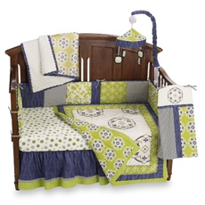 CoCaLo™ Moss 4-Piece Crib Bedding Set and Accessories - Bed Bath & Beyond