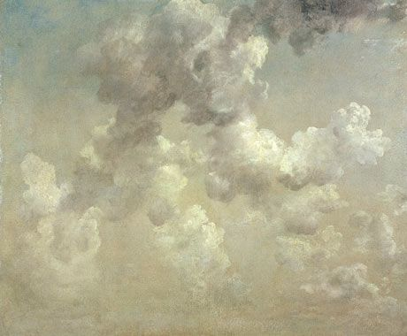 John Constable's Study of Clouds. Photograph: Ashmolean Museum, University of Oxford/Bridgeman