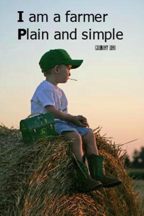 I am a farmer----looks just like Jackson watching dad