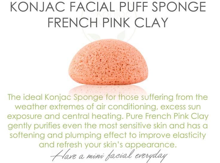 The Konjac Sponge Company French Pink Clay