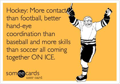 The best sport!