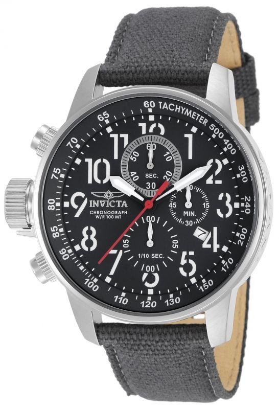 Invicta I-Force 11519, diseño lefty, cronómetro, fechador, cronógrafo y caja de 46 mm.