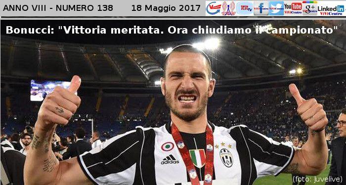 Bonucci: ''Vittoria meritata. Ora chiudiamo il campionato''
