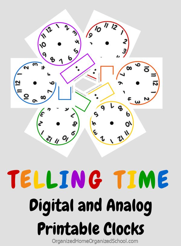 Having trouble teaching your kids how to tell time? Follow these simple tips to help them understand the concepts and get a FREE printable digital and analog clock printable.