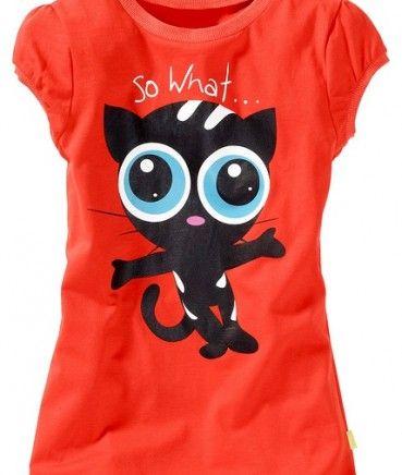 Tricouri ieftine: Tricou fete bpc portocaliu