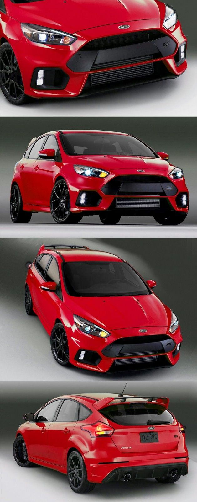 2016 Ford Focus RS - Digital Colorizer