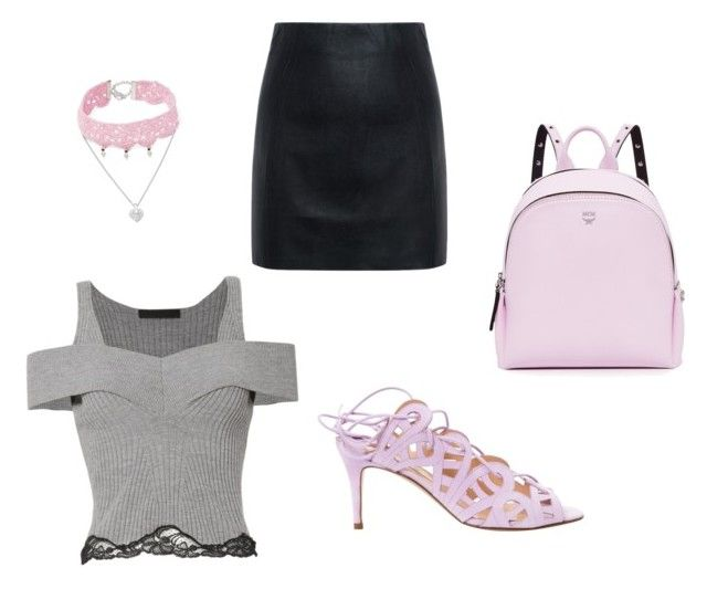 Girly Day Out by unicornlover1075 on Polyvore featuring polyvore, fashion, style, Alexander Wang, McQ by Alexander McQueen, Bionda Castana, MCM, Design Lab and clothing