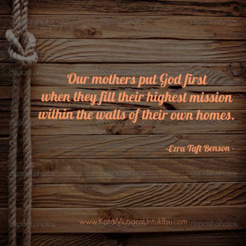 kata mutiara iman dari ibu