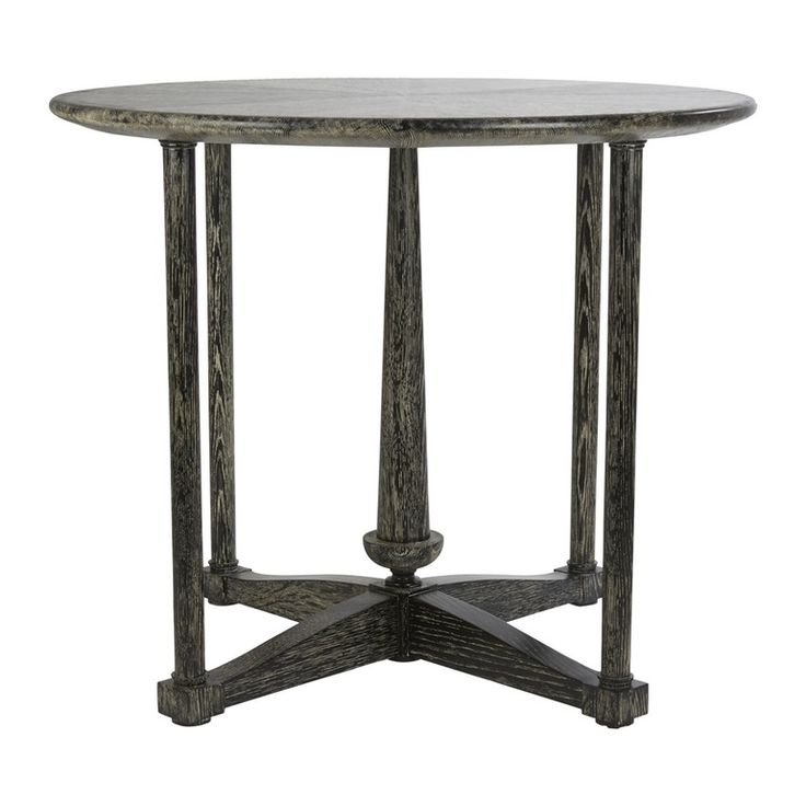 Peitha Accent Table Transitional, Traditional, Wood, Side Table By Kimberlyu2026