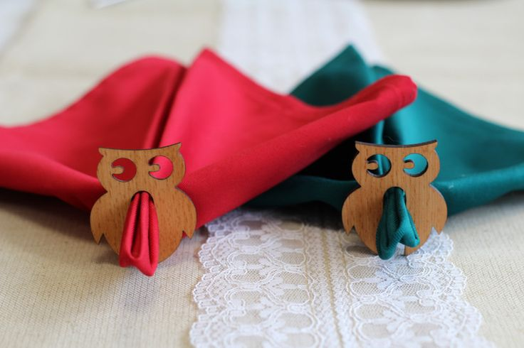 Wooden+Napkin+Rings+Model+Owls+with+Crevice+from+Withoutrecipe+by+DaWanda.com
