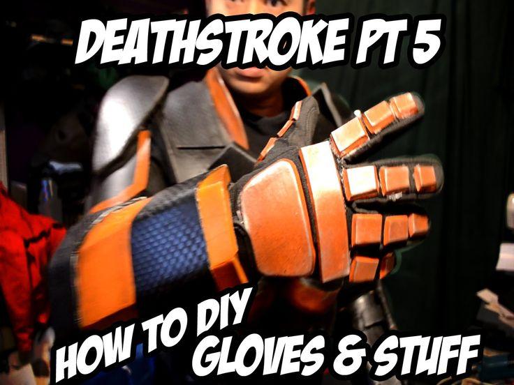 Deathstroke How to Diy Costume Part 5 Batman Arkham knight