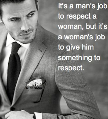 YES! Women so many times try to say it's only the man's job and they shouldn't have any of the responsibility. SO WRONG! It goes BOTH WAYS.