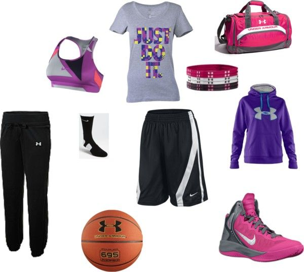 """Basketball3"" by huckinslogan ❤ liked on Polyvore"