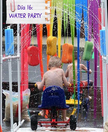 Mami ¿te ayudo?: Fun with Kids: WATER PARTY