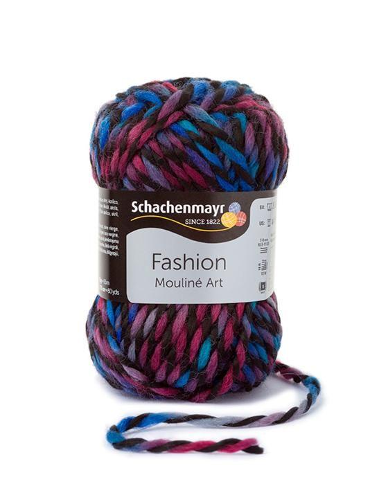 Ebben a legújabb gyapjúfonalban minden szál két különböző színű szálból van sodorva, ezzel létrehozva egy különleges színhatást. Az egyik egy diszkrét szín, a másik pedig spot szín, így a gombolyag sokszínű mégis harmonikus.