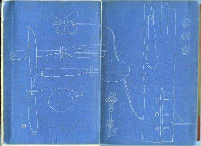 花 森 安 治 の 装 釘 世 界 | Yasuji Hanamori, 1948, endsheets