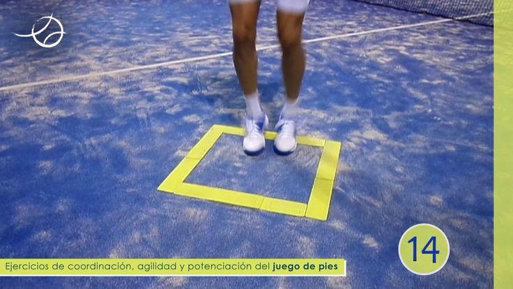 PÁDEL JUEGO DE PIES Coordinación y agilidad 13 en