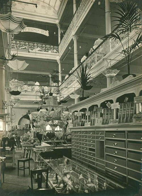 inside Georges Department store, Collins St Melbourne, Australia. No longer with us