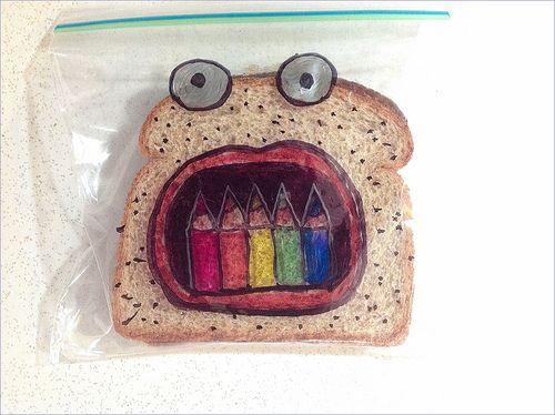 Lunch Bag Gone Art Work