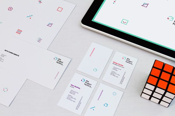 The Project Factory – Graphic Brand Design by Dittmar