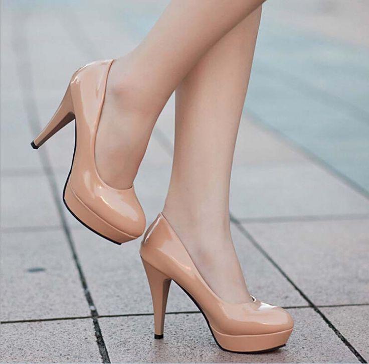 Encontrar Más Bombas de las mujeres Información acerca de Ol oficina moda para mujer plataforma tacones altos 2015 recién llegado de punta redonda inferiores rojos tacones altos zapatos primavera mujer bombas para mujer, alta calidad Bombas de las mujeres de Koko-Star Shop en Aliexpress.com