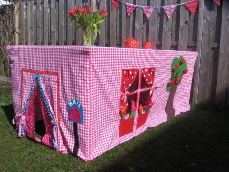 super idee das werde ich f r meine enkelkinder n hen und dann einfach wie eine tischdecke ber. Black Bedroom Furniture Sets. Home Design Ideas