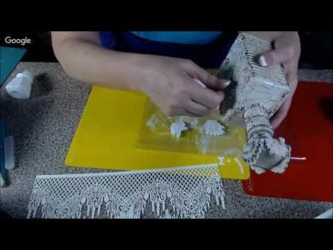 Окрашивание и приклеивание объёмных элементов из полимерной глины Наталья Большакова Университет Дек - YouTube